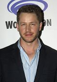APRIL 19-ANAHEIM, CA:  Josh Dallas arrives at the 2014 Annual Wondercon press room for