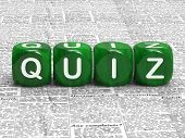 Quiz Dice Shows Questions Answers And Testing