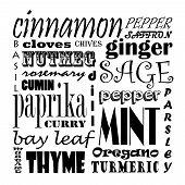 Spice Text Art
