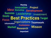 Best Practices Brainstorm Shows Optimum Business Procedures