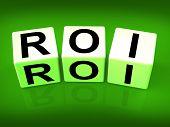 Roi Blocks Mean Financial Return On Investment