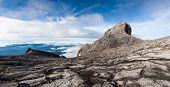 South Peak And St John's Peak Of Kinabalu Mount