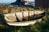 Old Weathered Boat