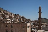 overview of the city of Mardin, Turkey