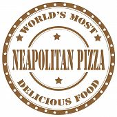 Neapolitan Pizza-stamp