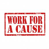 Work For A Cause-stamp