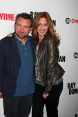 LOS ANGELES - APR 28:  Eddie Marsan, Brooke Smith at the