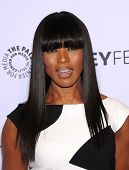 LOS ANGELES - MAR 28:  Angela Bassett arrives to the Paleyfest 2014: American Horror Story COVEN  on