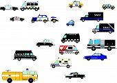 Set Police Cars
