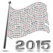 2015 Flag Calendar