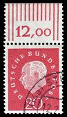 Heuss stamp 1959