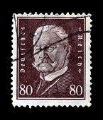 Hindenburg stamp 1928