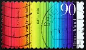 Postage Stamp Germany 2012 Colour Spectrum