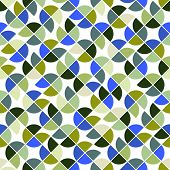 Colorful geometric background, squared abstract seamless pattern.