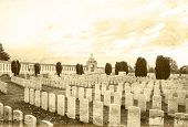 image of tyne  - Tyne Cot Great world war 1 flanders fields belgium - JPG