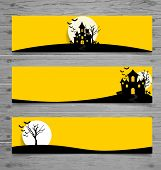 picture of happy halloween  - Happy Halloween design background - JPG