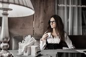 Business Mood And Coffee