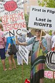Moral Monday Signs Protesting North Carolina Gop Politics