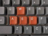 Keys WASD on keyboard