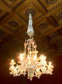 chandelier in palace (Livadia, Crimea)