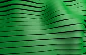 green plastic stripes background