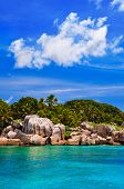 Coast of tropical island - nature background