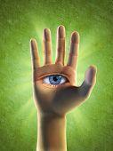 drittes Auge