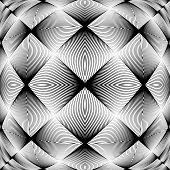 Design Monochrome Decorative Background