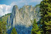 Yosemite Vertical Rocks