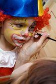 The Boy Wearing Clown
