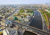 Moscow (Russia) center - aerial view