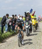 The Cyclist Geraint Thomas - Paris Roubaix 2014