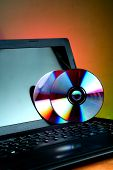Computer Laptop and CD