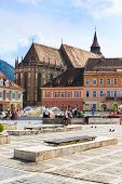 Council Square On July 15, 2014 In Brasov, Romania
