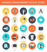 Design And Development Icons.