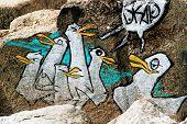 Graffiti Penguins