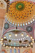 Suleymaniye Mosque in Istanbul Turkey - architecture religion background