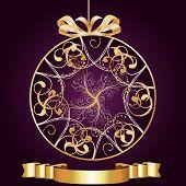 Artistic-Purple & Gold