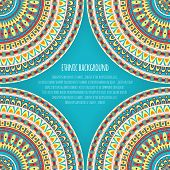 Ethnic Patterns for Background Design