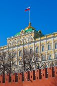 President palace in Kremlin - Moscow Russia