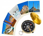 Turkey images and compass - nature and travel (my photos)