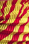 Red And Yellow Goffered Paper