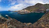 Panorama of Garachico in Tenerife island - Canary Spain