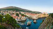 Panorama of Dubrovnik, Croatia - architecture background