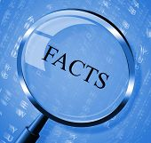 Facts Magnifier Means Details Intelligence And True