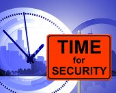 Time For Security Represents At Present And Currently