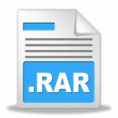 Zipped File Indicates Organize Organized And Folder