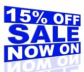 Fifteen Percent Off Shows At This Time And Clearance