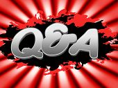 Q And A Means Frequently Asked Questions And Faqs