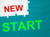 New Start Means At This Time And Go